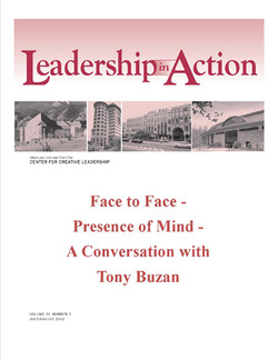 Leadership in Action: Face to Face - Presence of Mind - A Conversation with Tony Buzan