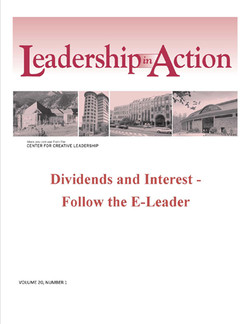 Leadership in Action: Dividends and Interest - Follow the E-Leader