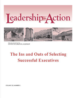 Leadership in Action: The Ins and Outs of Selecting Successful Executives