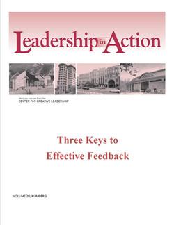Leadership in Action: Three Keys to Effective Feedback