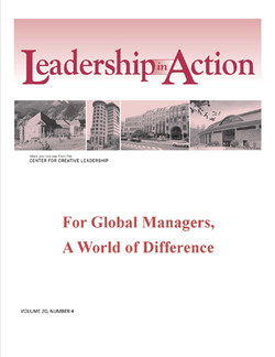 Leadership in Action: For Global managers, A World of Difference