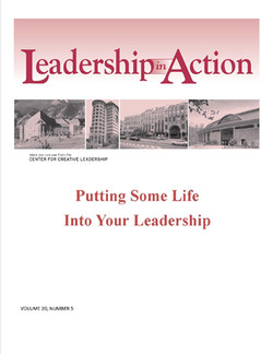 Leadership in Action: Putting Some Life into Your Leadership