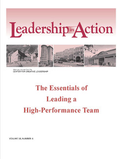 Leadership in Action: The Essentials of Leading a High-Performance Team