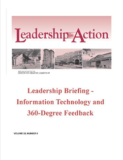 Leadership in Action: Leadership Briefing - Information Technology and 360-Degree Feedback