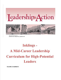 Leadership in Action: Inklings - A Mid-Career Leadership Curriculum for High-Potential Leaders