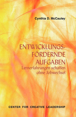 Developmental Assignments: Creating Learning Experiences Without Changing Jobs (German)