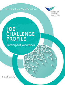 Job Challenge Profile, Participant Workbook