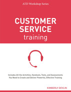 book cover: Customer Service Training