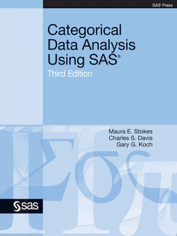 Categorical Data Analysis Using SAS, Third Edition, 3rd Edition