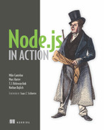 Cover of Node.js in Action
