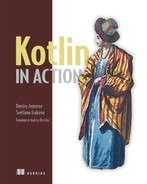 Cover of Kotlin in Action