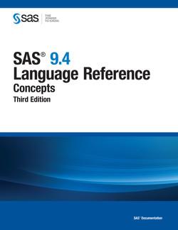 SAS 9.4 Language Reference, 3rd Edition
