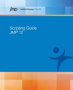 JMP 12 Scripting Guide