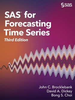 SAS for Forecasting Time Series, Third Edition, 3rd Edition