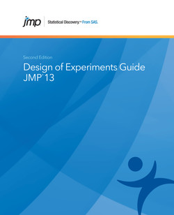 JMP 13 Design of Experiments Guide, Second Edition, 2nd Edition