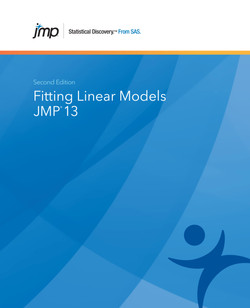 JMP 13 Fitting Linear Models, Second Edition, 2nd Edition