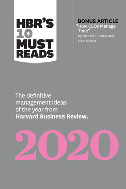 HBR's 10 Must Reads 2020