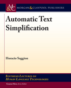 Automatic Text Simplification