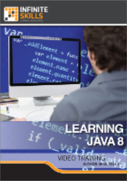 Learning Java 8
