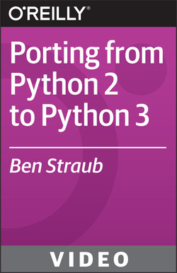 Porting from Python 2 to Python 3