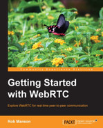 Cover of Getting Started with WebRTC