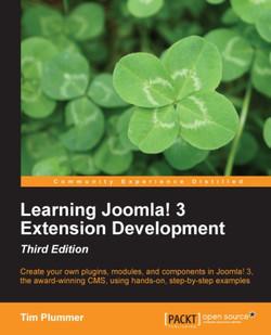 Learning Joomla! 3 Extension Development - Third Edition