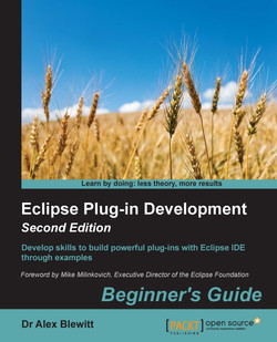 Eclipse Plug-in Development Beginner's Guide - Second Edition