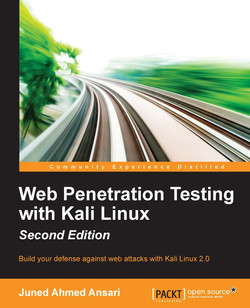 Web Penetration Testing with Kali Linux - Second Edition