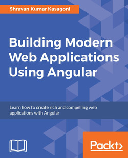 Building Modern Web Applications using Angular