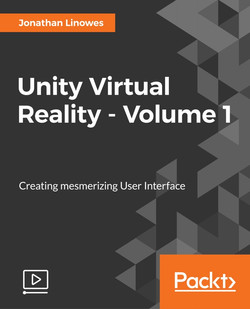 Unity Virtual Reality - Volume 1