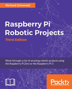 Raspberry Pi Robotic Projects - Third Edition