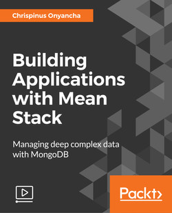 Building Applications with Mean Stack