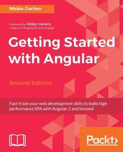 Getting Started with Angular - Second Edition