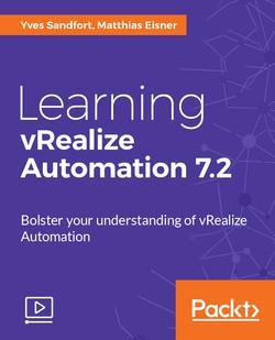 Learning vRealize Automation 7.2