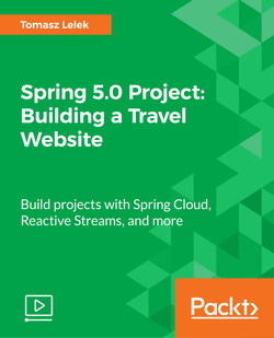 Spring 5.0 Project: Building a Travel Website