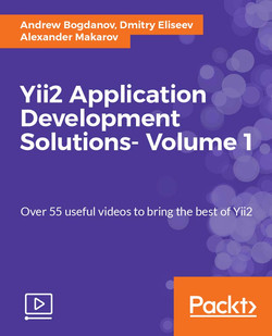 Yii2 Application Development Solutions- Volume 1
