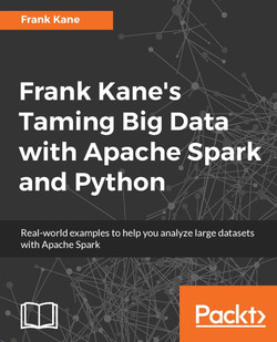 Frank Kane's Taming Big Data with Apache Spark and Python