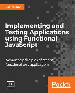 Implementing and Testing Applications using Functional JavaScript