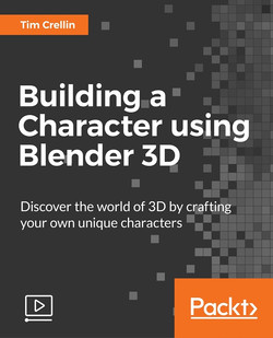 Building a Character using Blender 3D