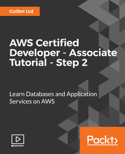 AWS Certified Developer - Associate Tutorial - Step 2