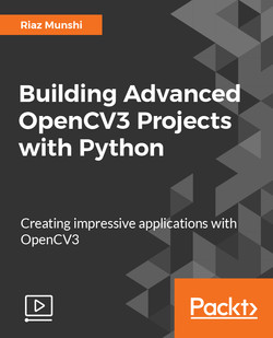 Building Advanced OpenCV3 Projects with Python