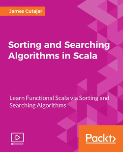 Sorting and Searching Algorithms in Scala