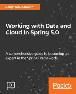 Working with Data and Cloud in Spring 5.0