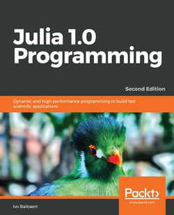 Julia 1.0 Programming