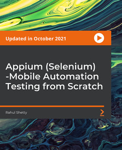 Appium(Selenium)-Mobile Automation Testing from Scratch