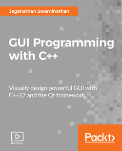GUI Programming with C++