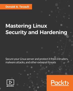 Mastering Linux Security and Hardening