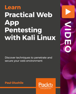 Practical Web App Pentesting with Kali Linux