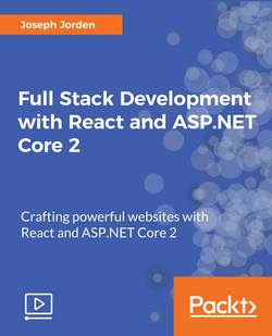 Full Stack Development with React and ASP.NET Core 2