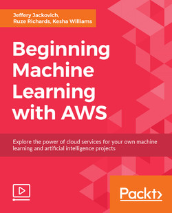 Beginning Machine Learning with AWS